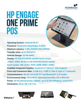 Hp Engage One Prime (Point Of Sale) image 4