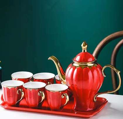 8 pcs tea set image 3