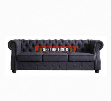3 Seater Chesterfield Sofa image 3
