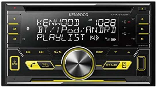 Kenwood DPX-5100BT 2-DIN CD-Receiver with Built-in Bluetooth