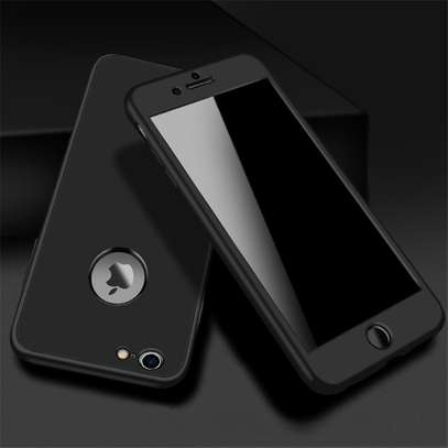 360 full protective cover tpu soft rubber phone case for iPhone 6 6S image 5