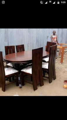 Dinning table set of 6pax image 3