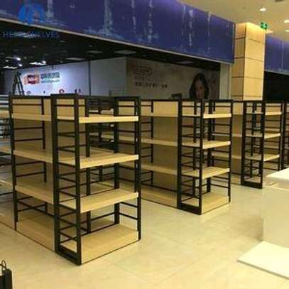 Supermarket and retail shelves image 5
