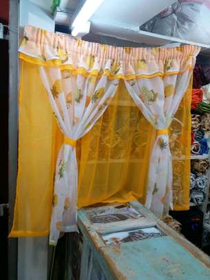 kitchen curtain 200cm width by 120cm height image 4