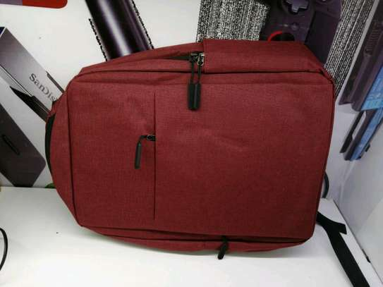 Laptop backpack different colours image 3