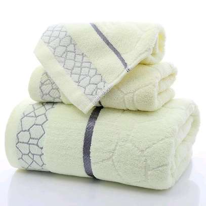 3 piece cotton towels image 2