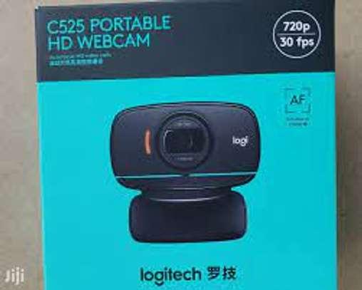 Logitech C525 portable HD webcam image 1