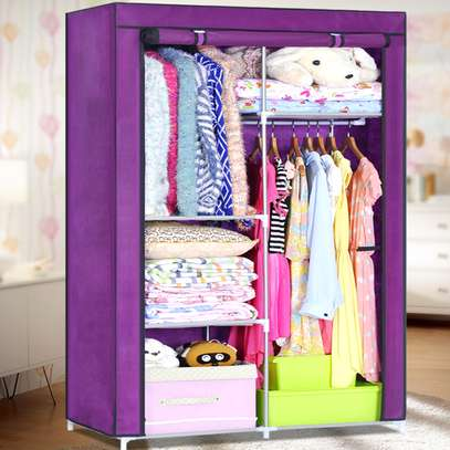 Portable 2 Column Wardrobe