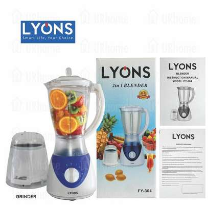 Lyons FY-304-1.5L Professional Blender With Grinding Machine image 1