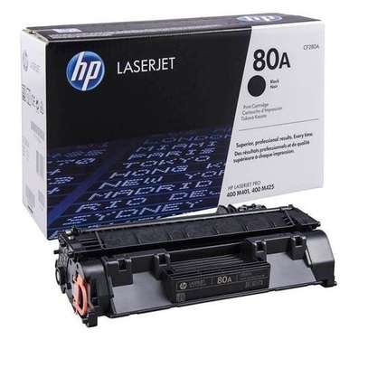 HP 80A (CF280A) LASERJET TONER CARTRIDGE BLACK image 1