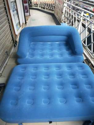 Inflatable 2 Seater Pull Out Sofa image 3
