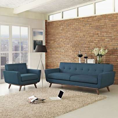 Blue couch design image 1