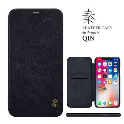 Nillkin Qin Series Leather Luxury Wallet Pouch For iPhone XR and iPhone XS Max image 1