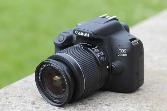 Canon EOS 2000D DSLR Camera and EF-S 18-55 mm Lens image 2