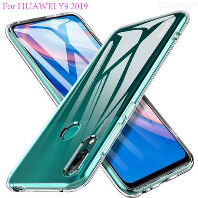 Clear TPU Soft Transparent case for Huawei Y9 Prime 2019/Y7 Prime 2019 image 4