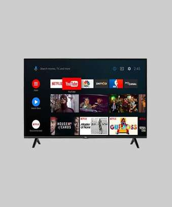 55 inch TCL smart android TV 4k image 1
