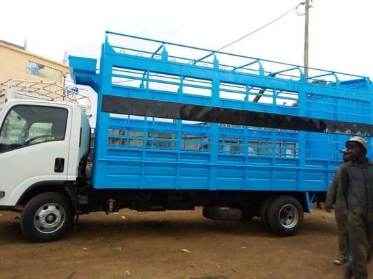 Lorry and pick up Body making and repair image 5