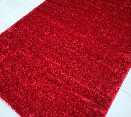 5 BY 8 RED TURKISH CARPET image 1