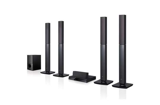 LG 5.1CH Surround System (4 Tallboy), FM Radio, Bluetooth Music Steaming image 1