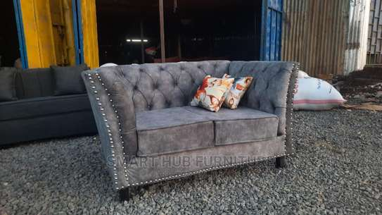 2 Seater Chesterfield image 1