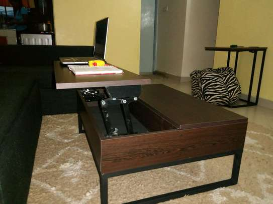 Functional convertible Coffee Table image 5