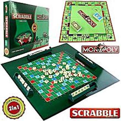 2  in 1 monopoly plus scramble game image 1