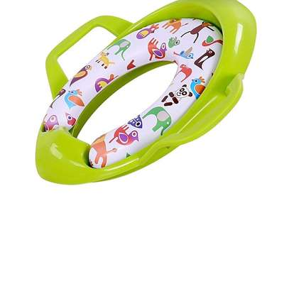 baby Children Potty Training Seat Kids Baby Toddler Handle Toilet Soft Pad Portable image 1
