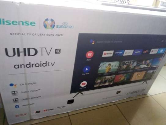 "Hisense 70"" smart Android 4k led tv image 1"