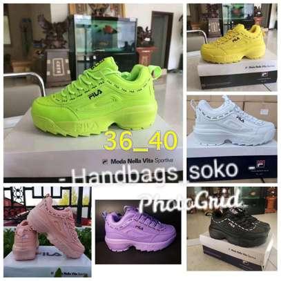 Ladies fila sneakers image 1
