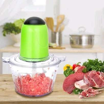 *Multi~fuctional electric  vegetable chopper &meat mincer image 3