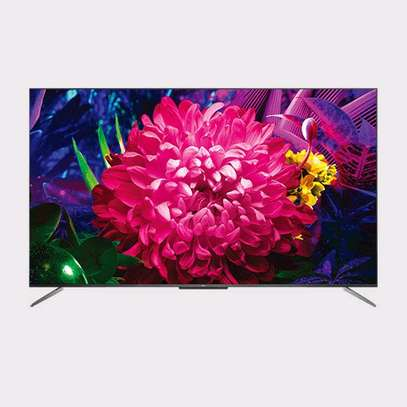 TCL 55C715 55 Inch C715 4K UHD HDR Android Smart QLED TV image 1