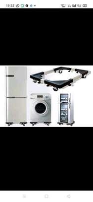 Adjustable fridge/ washing machine Trolley stand image 3