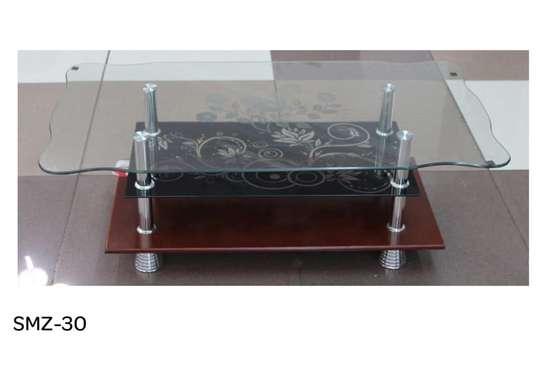 Glass-top Coffee Table image 1