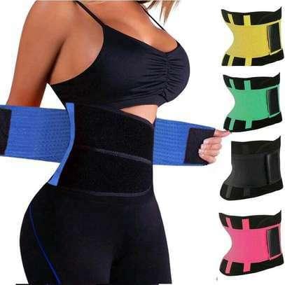 Adjustable waist support/slimming belt (hot shaper) image 1