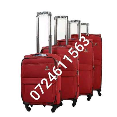 Suitcases and laptops bags