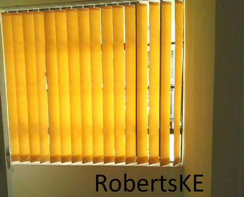 decorative yellow blinds blinds image 1