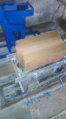 Interlocking soil block press image 4