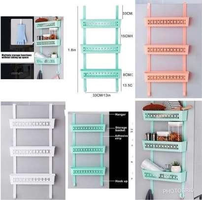 Multi functional fridge side organizer image 1