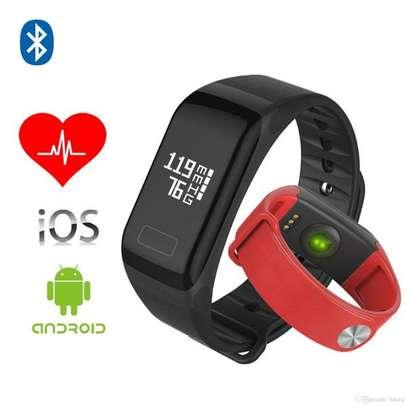 F1 Sports Heart Rate Blood Pressure Smart Bracelet Watch image 2