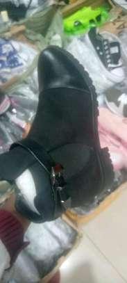 Black Victoria boots image 1