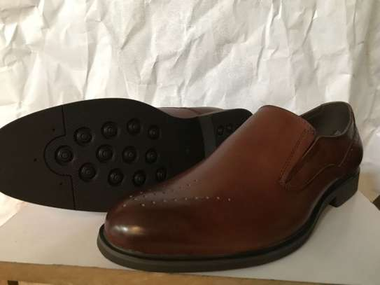 Men's Official Italian Leather Shoes with rubber sole image 4