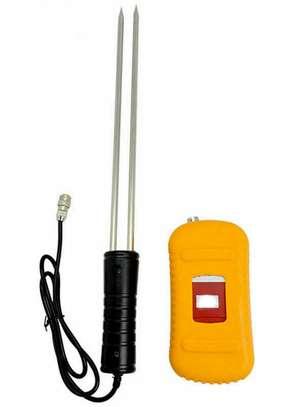 Portable digital Grain Moisture Humidity Meter temperat Tester brand new image 3