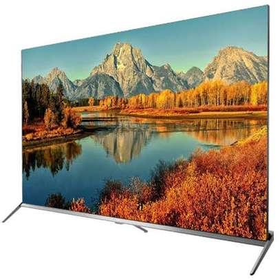 TCL 65 inches Android Smart IPQ-TV UHD-4K Digital Frameless TVs 65P715 image 1