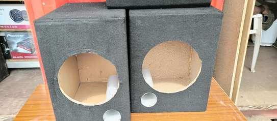 Car speakers cabinet all sizes image 2