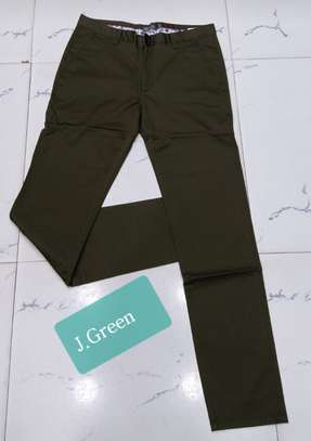 Men Soft Slim Fit  Khakis image 1