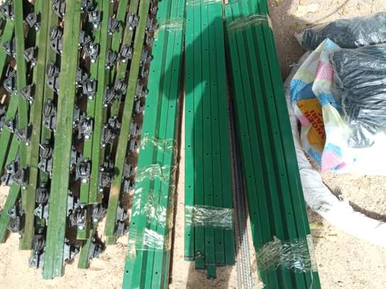 W post fencing poles suppliers and installer s image 2