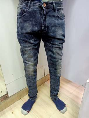 Blue Faded Jeans