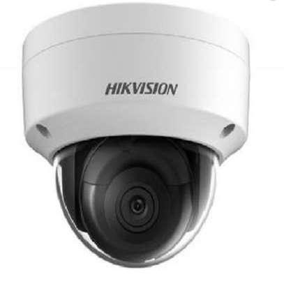 Hikvision 4mp colourvu fixed dome camera image 1