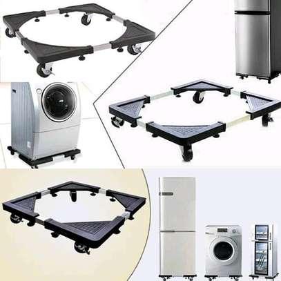 Adjustable fridge/ washing machine Trolley stand image 2