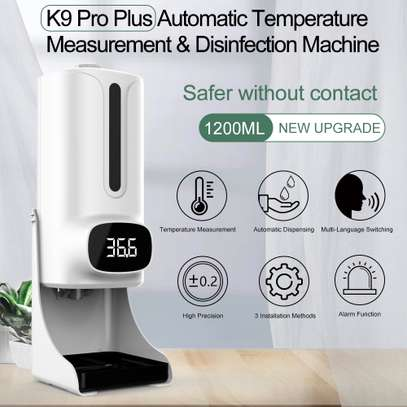 Best Quality Brand K9 Dispenser plus Themometer Wall Mounted image 5